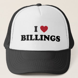 I Love Billings Montana Trucker Hat