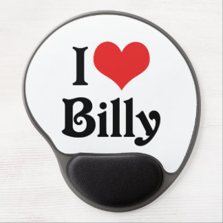 I Love Billy Gel Mouse Pad