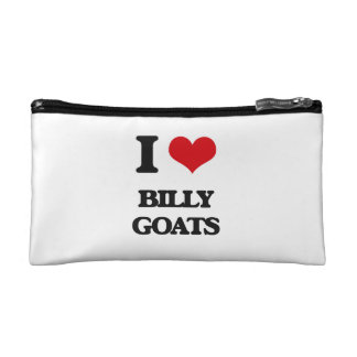 I Love Billy Goats Cosmetic Bags