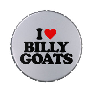 I LOVE BILLY GOATS JELLY BELLY TINS