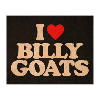 I LOVE BILLY GOATS CORK PAPER