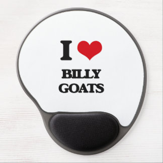 I Love Billy Goats Gel Mouse Pad