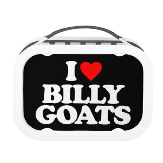 I LOVE BILLY GOATS LUNCHBOXES