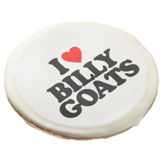 I LOVE BILLY GOATS SUGAR COOKIE