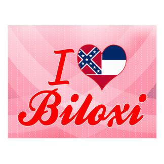 I Love Biloxi, Mississippi Postcard