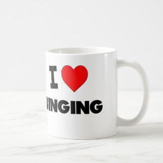 I Love Binging Coffee Mugs