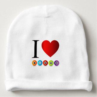 I love bingo baby beanie