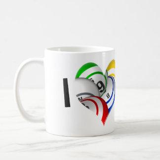 I love Bingo heart logo mug! Coffee Mug