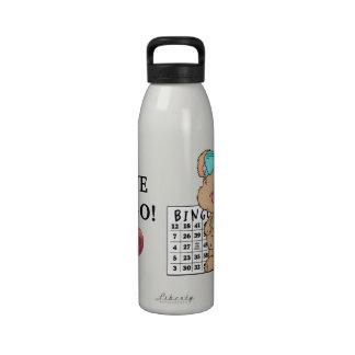I Love Bingo liberty water bottle
