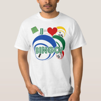 I love Bingo retro style shirt