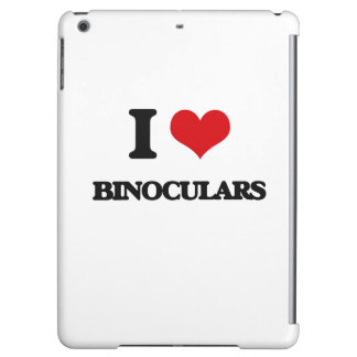 I Love Binoculars iPad Air Covers