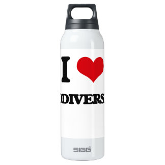 I Love Biodiversity 16 Oz Insulated SIGG Thermos Water Bottle