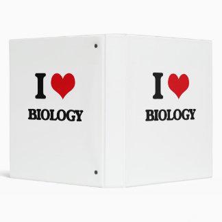 I Love Biology Binder