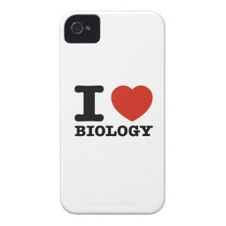 I love Biology iPhone 4 Case-Mate Cases