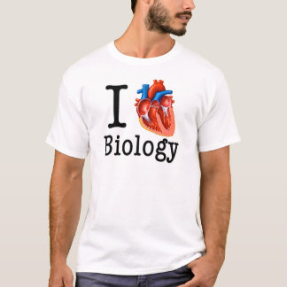I Love Biology T-Shirt