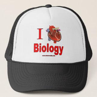 I Love Biology Trucker Hat