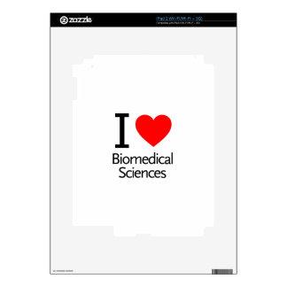 I Love Biomedical Science Skin For The iPad 2