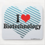 I Love Biotechnology Mouse Pad