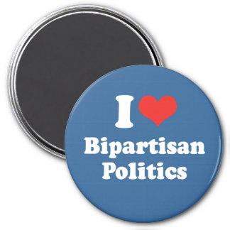 I LOVE BIPARTISAN POLITICS - png Magnets