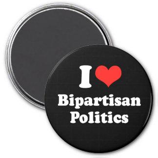 I LOVE BIPARTISAN POLITICS png Refrigerator Magnet