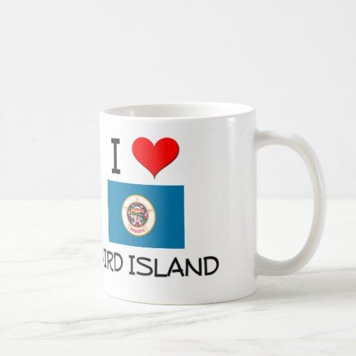 I Love Bird Island Minnesota Classic White Coffee Mug