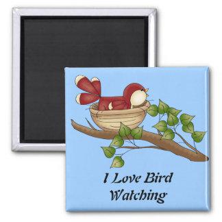 I Love Bird Watching magnet