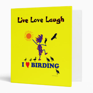 I Love Birding Binder