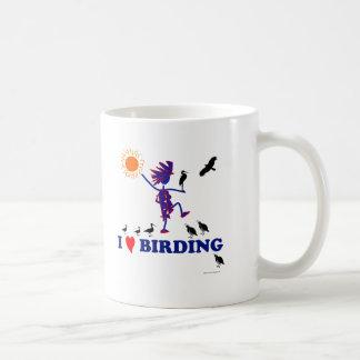 I Love Birding Coffee Mug