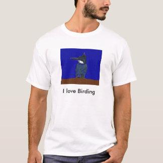 I love Birding Kingfisher T-shirt