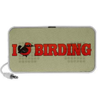 I Love Birding VEFL Laptop Speakers
