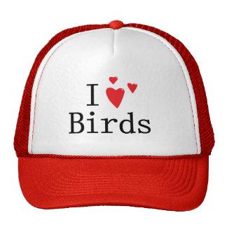 I Love Birds Trucker Hat