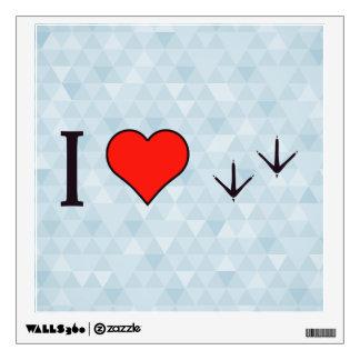 I Love Birds Wall Sticker