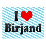 I Love Birjand, Iran Postcards