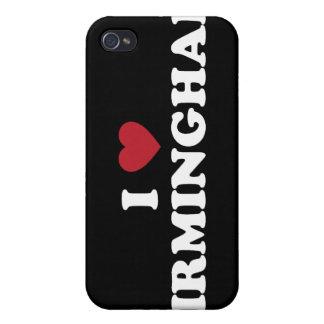 I love Birmingham Alabama Case For iPhone 4