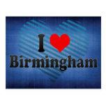 I Love Birmingham, United Kingdom Postcard