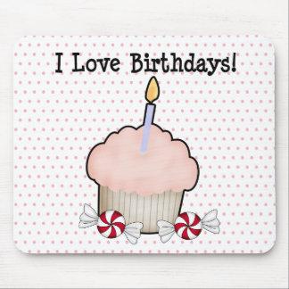 I love birthdays! mouse pad
