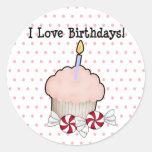 I love birthdays! sticker