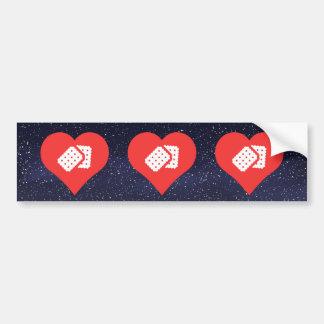 I Love Biscuits Car Bumper Sticker