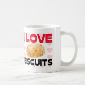I Love Biscuits Coffee Mug