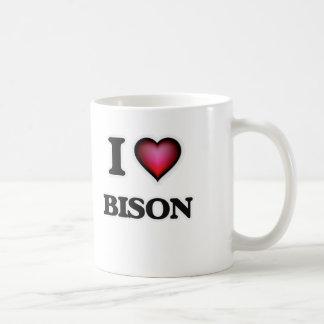 I Love Bison Coffee Mug