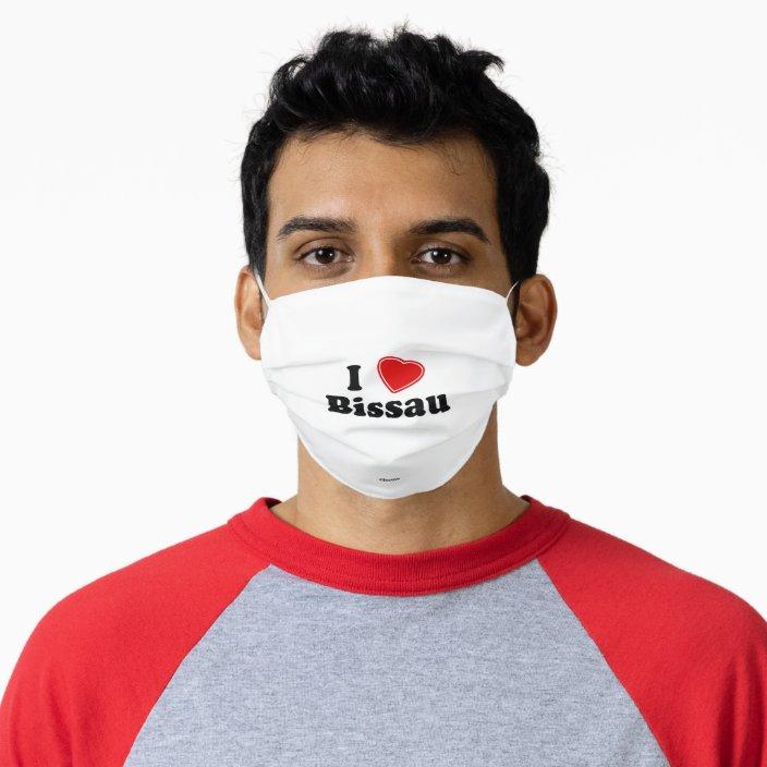 I Love Bissau Face Mask