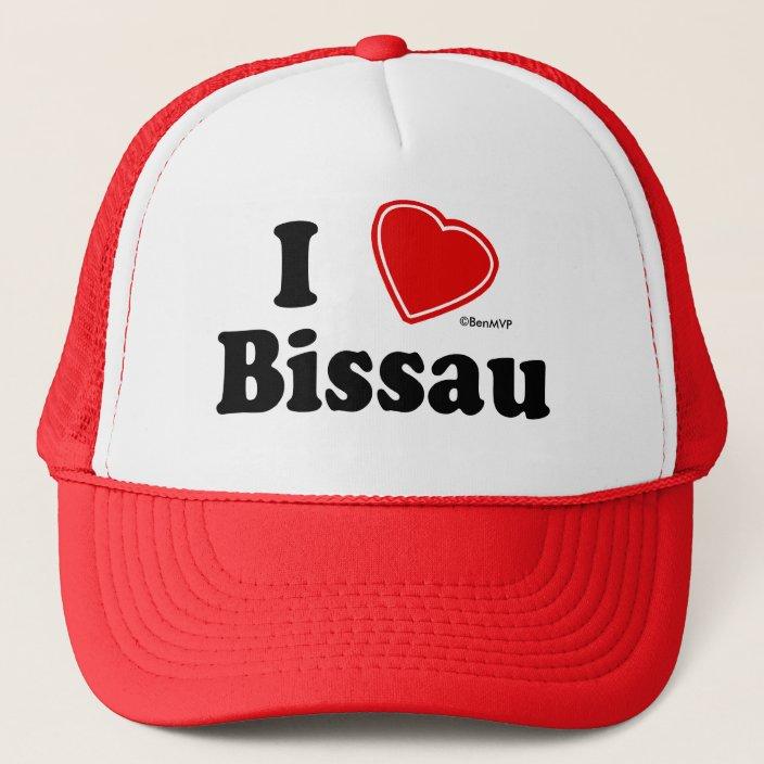 I Love Bissau Hat