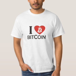 i LOVE BitCoin T-Shirt
