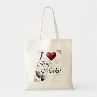 I Love Bite Marks Tote Bag