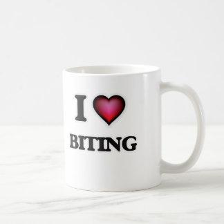 I Love Biting Coffee Mug