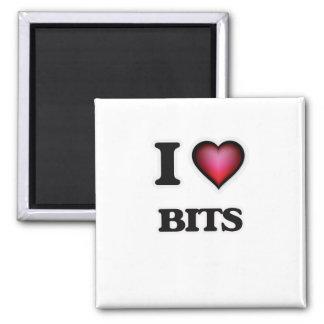 I Love Bits Magnet