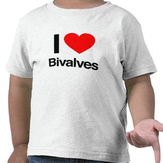 i love bivalves t shirt