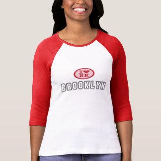 I Love BK Brooklyn Heart Jersey T-Shirt