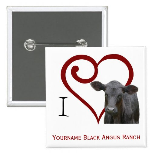 I love Black Angus Beef Button