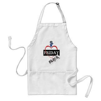 I Love Black Friday  Aprons